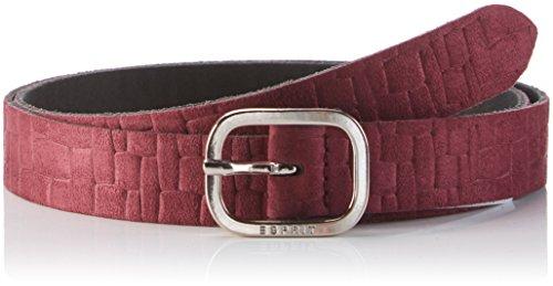 ESPRIT 106EA1S010, Cintura Donna, Rosso (Bordeaux Red), 75 cm (Taglia Produttore: 75)