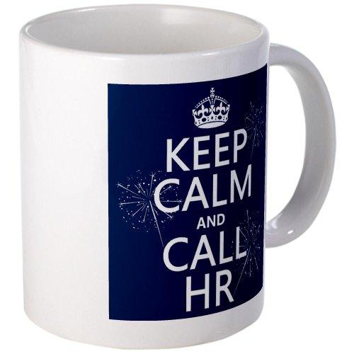 Cafepress Keep Calm And Call H.R. Mug - Standard Multi-Color