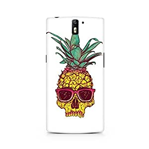 Mobicture Skull Abstract Premium Printed Case For OnePlus One