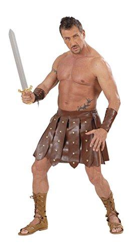 Gladiatore gonna e bracciali in similpelle