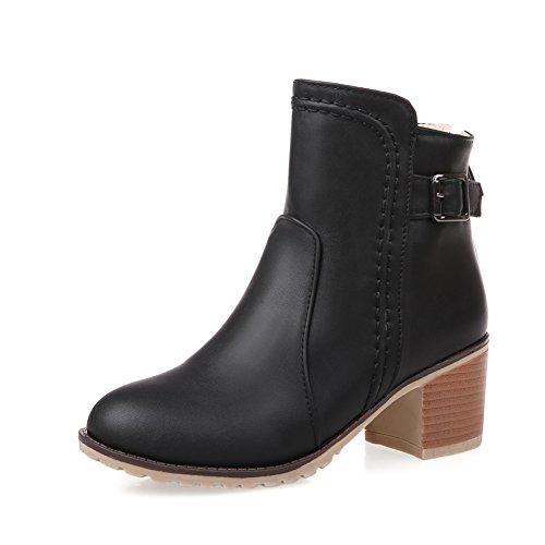 Au printemps et en automne en bottes gros et courts/ bottes bottines avec un seul