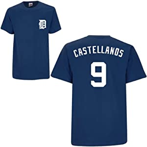 Nick Castellanos Detroit Tigers Navy Player T-Shirt by Majestic by Majestic