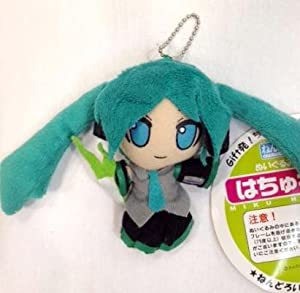 "Miku Hatsune Keychain Plush 4.5"" - Blue Eye"