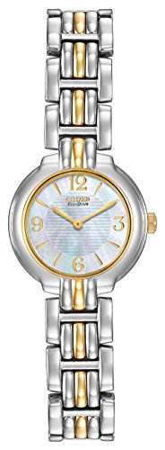 Citizen Eco-Drive Women's Silhouette Two-Tone Watch #EW8694-52D