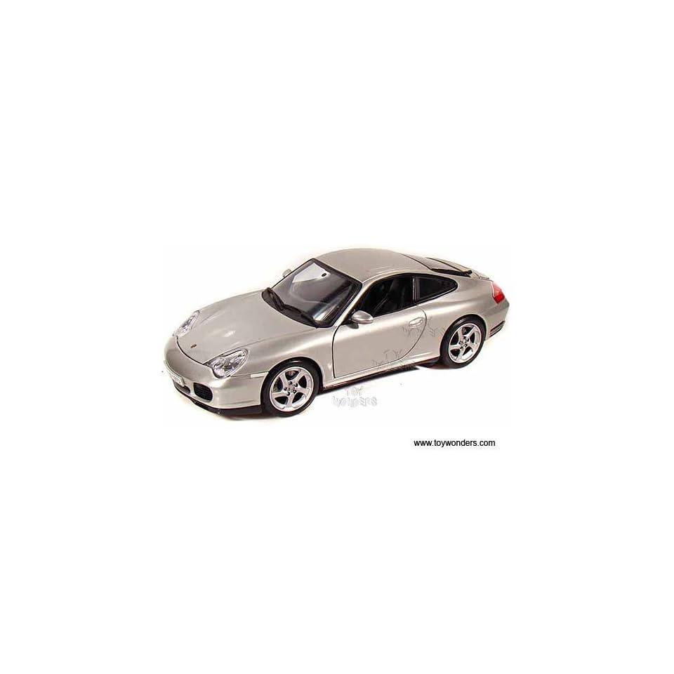 31628sv Maisto   Porsche 911 Carrera 4s Hard Top (118, Silver) 31628 Diecast Car Model Auto Vehicle Die Cast Metal Iron Toy Transport