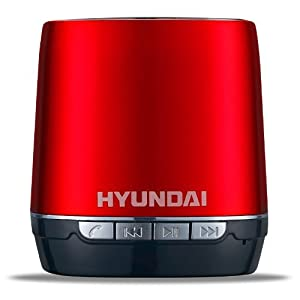 HYUNDAI Bluetooth 2.1 + EDR Wireless Speaker Free Call TF Card Mini Speaker For IPhone/IPad/IPod/Cellphone (Red)