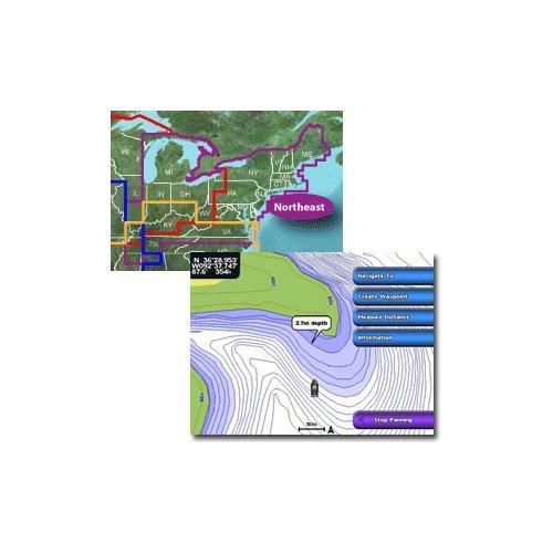 Garmin lakes vision – northeast – microsd/sd over $150