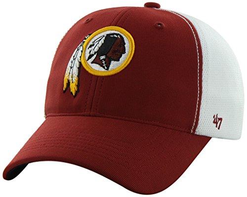 Nfl Washington Redskins '47 Brand Draft Day Closer Stretch Fit Hat, Razor Red, One Size Stretch