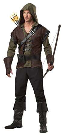 Low Price California Costumes Robin Hood Adult Costume