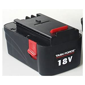 Task Force 18 Volt Replacement Battery Cordless Tool