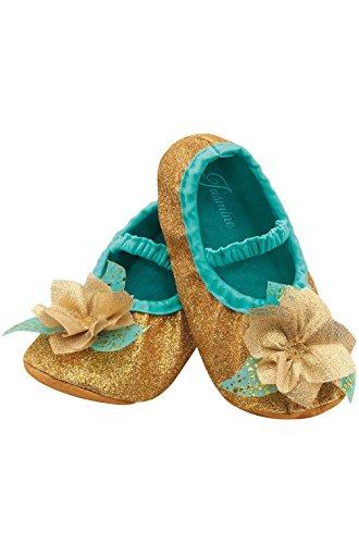 [Mememall Fashion Aladdin Princess Jasmine Toddler Slippers] (Aladdin Costume For Boy)