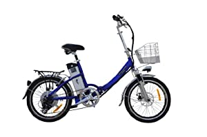 """2014 Dex 36v 20"""" Electric Folding Bicycle LiMn Battery - Available Again !!!"""