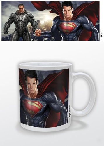 Superman: Man Of Steel - Ceramic Coffee Mug (Superman & General Zod)