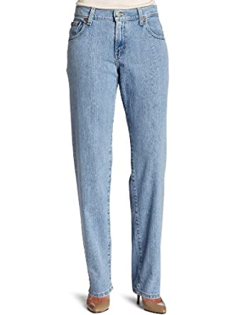 Levi's Misses Levi 550 Tapered Leg Jean, Light Stonewash, 6 Long