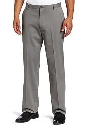 Dockers Men's Stain Defender Khaki D3 Classic Fit Flat Front Pant