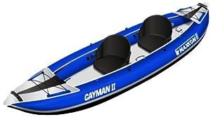 Maxxon 2 Person Inflatable Kayak, 12-Feet 5-Inch