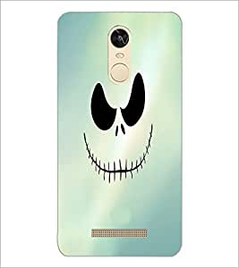 PrintDhaba Scary Face D-3439 Back Case Cover for XIAOMI REDMI NOTE 3 PRO (Multi-Coloured)