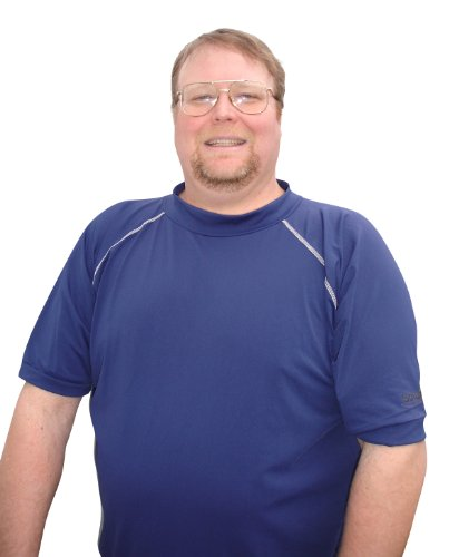 Plus Size Rash Guard Swim Shirt For Big Men