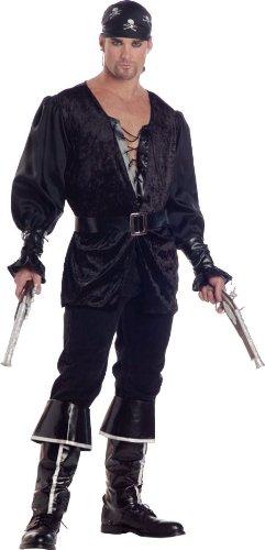 Halloween Pirate Costumes Men's Blackheart
