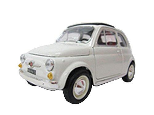 Bburago 1/18 フィアット500 (1965) ホワイト