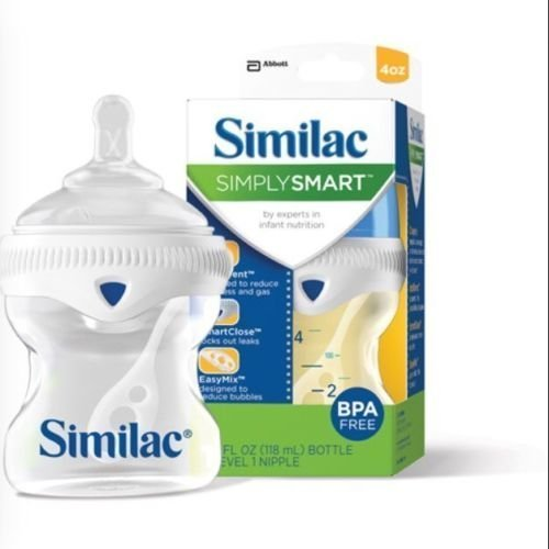 3-similac-simply-smart-bottles-4oz-slow-flow-nipple-bpa-free-brand-new-by-similac
