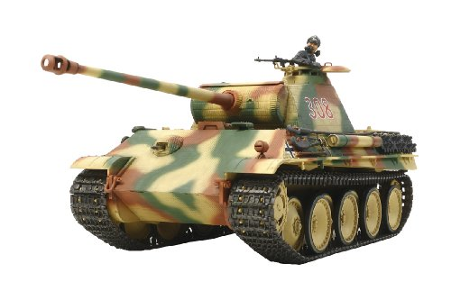 german-panther-ausfg-early-production-w-single-motor-plastic-model