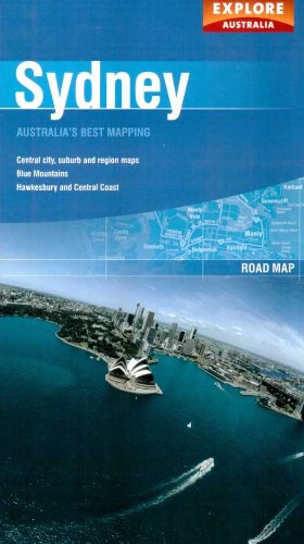 Sydney (Explore Australia Road Maps)
