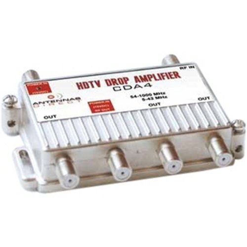 4 Port DTV Distribution Amplifier (Direct Tv Amplifier compare prices)
