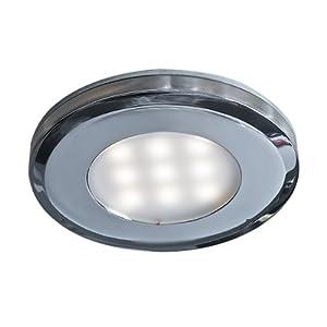 Dals Lighting 4007FR-WH Slim LED Puck