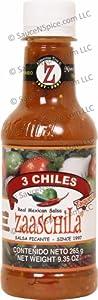 Zaaschila, 3 Chiles Taquera Red Salsa 9.35oz (265g)