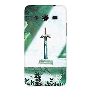 Delighted Sword Grave Multicolor Back Case Cover for Galaxy Core 2