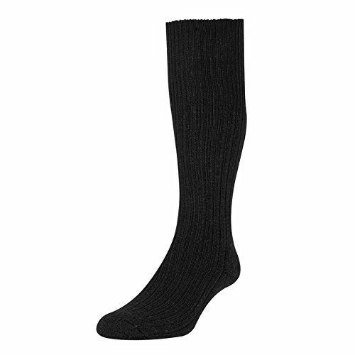 hj-hall-commando-mens-wool-rich-sock-sk46-black