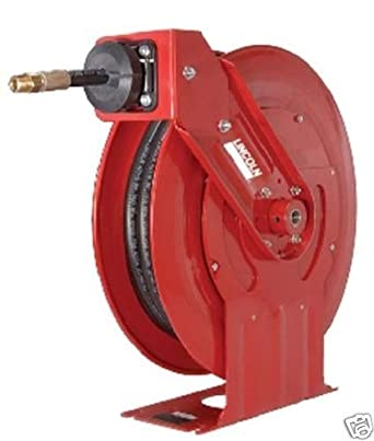 Lincoln Retractable Hose 94354 1/2 Fluid Reel: Amazon.com: Industrial