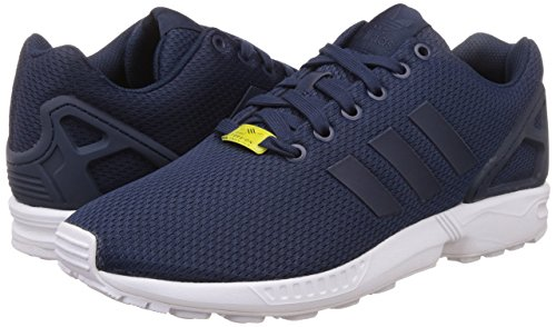 adidas Originals ZX Flux, Herren Sneakers, Blau (Dark Blue/Dark Blue/Core White), 42 EU (8 Herren UK) thumbnail