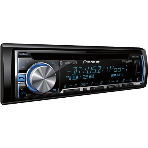 Pioneer Deh-X6600Bs Cd Receiver With Mixtrax(Tm), Bluetooth(R), Siriusxm(Tm) Ready, Android(Tm) Media Access