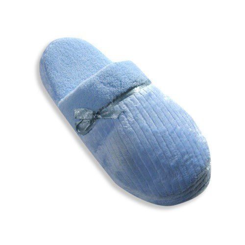 Cheap Private Label – Womens Scuff Slipper, Light Blue 19585 (B0033CDMZC)