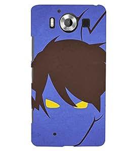 TOUCHNER (TN) Crazy Monster Back Case Cover for Nokia Lumia 950::Microsoft Lumia 950