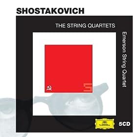 Shostakovich: The String Quartets (5 CDs)