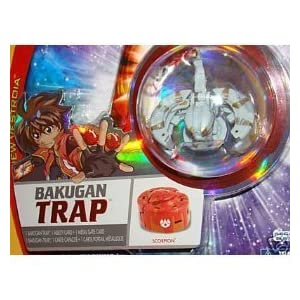 BAKUGAN NEW SEALED VESTROIA BAKUNEON TRAP LUMINOZ SCORPION - FACTORY SEALED P...