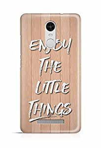 YuBingo Enjoy The Little Things Designer Mobile Case Back Cover for Xiaomi Redmi Note 3