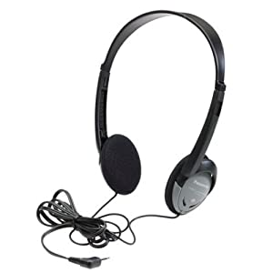 Panasonic RP-HT21 Lightweight Headphones with XBS Port