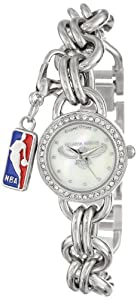 Game Time Ladies NBA-CHM-ATL Charm NBA Series Atlanta Hawks 3-Hand Analog Watch by Game Time