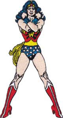 Application Wonder Woman Figure Patch - 1