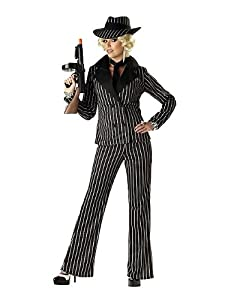 California Costumes Women's Gangster Lady Costume by California Costumes