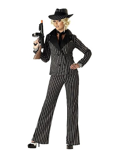 California Costumes Women's Gangster Lady Costume