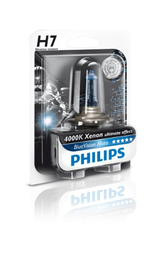 Philips 12972BVUBW - H7 BlueVision Moto B1, 12V, 55W, PX26d