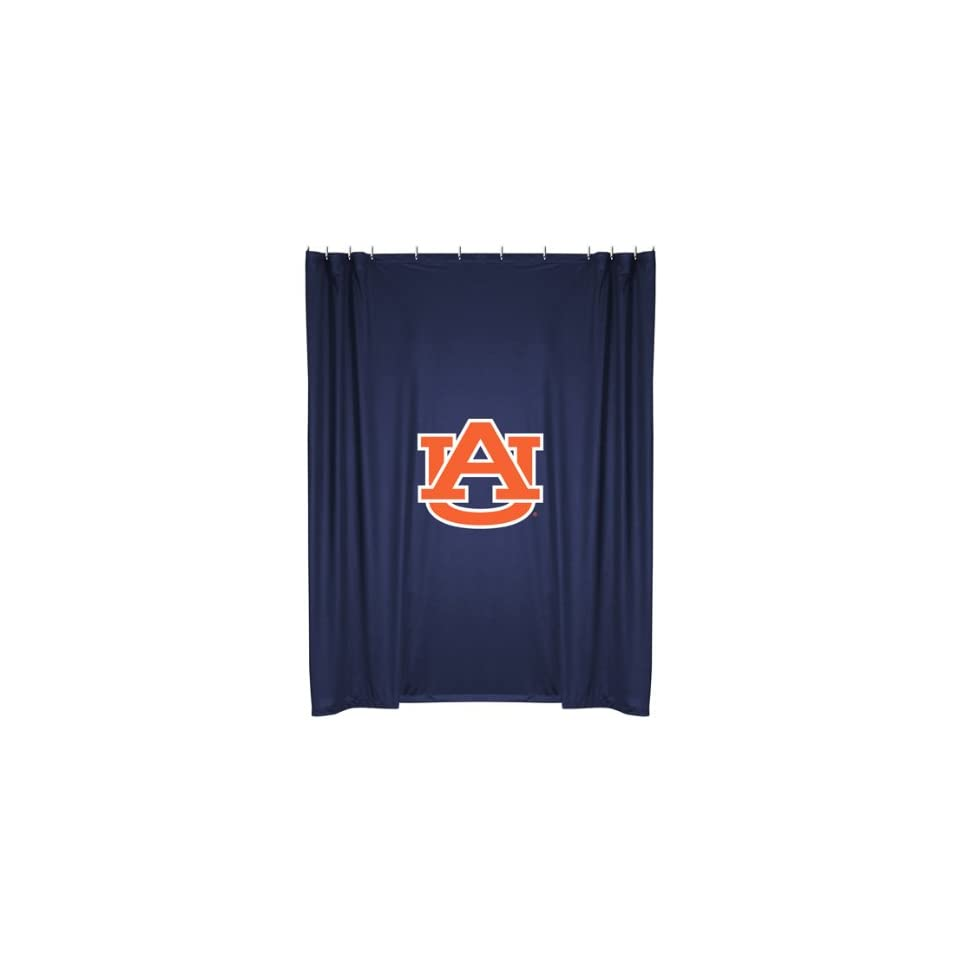 NCAA Auburn Tigers Locker Room Shower Curtain