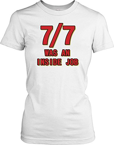77-Was-an-Inside-Job-Conspiracy-Ladies-T-Shirt