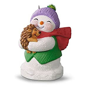 "Hallmark Keepsake 2016 ""Frosty Fun Decade #7"" Dated Holiday Ornament"