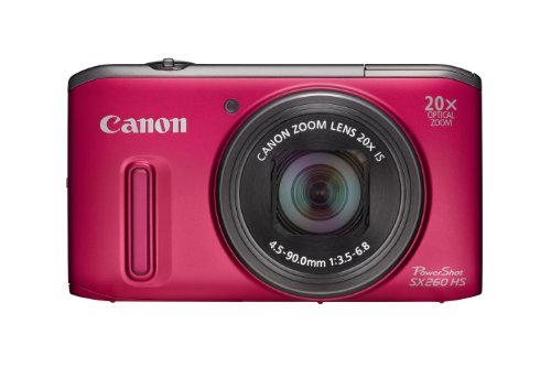 Canon Powershot SX260 GPS HS Digital Camera - 